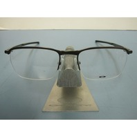 OAKLEY RX eyeglass frame CONDUCTOR 0.5 *pewter* OX3187-0251 ~NEW IN BOX w/case~!