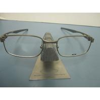 OAKLEY mens RX eyeglass frame Backwind Light  OX3164-0253 NEW in Oakley case