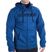 BURTON snowboard BONDED FLEECE HOODIE cyanide blue mens Large New in package