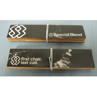 SPECIAL BLEND first chair last call promotional rolling papers ~NEW~RARE~!!