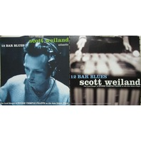 SCOTT WEILAND 1998 12 BAR BLUES promo flat *NEW old stock* ~STONE TEMPLE PILOTS~