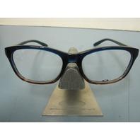 OAKLEY RX womens eyeglass frame TAUNT blue fade OX1091-0252 NEW in Oakley case
