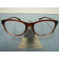OAKLEY womens RX eyeglass frame TAUNT brown fade OX1091-0452 NEW in Oakley case