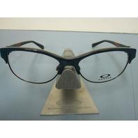 OAKLEY womens RX eyeglass frame THROWBACK dark green OX1108-0452 NEW w/O case