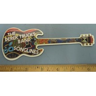 The Derek Trucks Band 2006 Songlines promotional Magnet New Old Stock Mint Cond