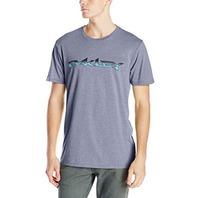 OAKLEY surf skateboard snowboard ACTION mens LG *STERLING* t-shirt ~NEW w/tag~!