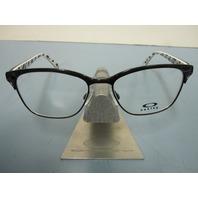 OAKLEY womens INTERCEDE black OX3179-0152 RX eyeglass frame NEW w/case in box