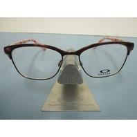 OAKLEY womens INTERCEDE brunette OX3179-0452 RX eyeglass frame New in box