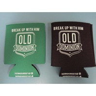 OLD DOMINION 2014 break up with him  2 promo beverage can Koozie's New Old Stock