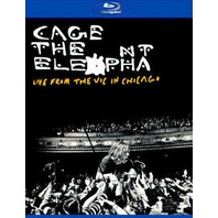 CAGE THE ELEPHANT: LIVE FROM THE VIC IN CHICAGO BLU-RAY ~SEALED~NEW~!