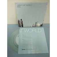 "Jimmy Eat World ‎2004 Pain/Shame PROMO clear 7"" vinyl ~NEW never played~!"