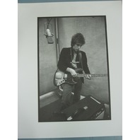 BOB DYLAN 2007 B&W Icon Collectibles Sony BMG promotional photo New Old Stock