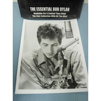 BOB DYLAN 2000 B&W Essential Columbia promotional photo New Old Stock Mint Cond