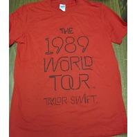 TAYLOR SWIFT 2014 1989 World Tour t-shirt SMALL NEW NEVER WORN