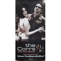 THE CORRS & BONO U2 2002 live in Dublin promo poster Mint Cond NEW old stock
