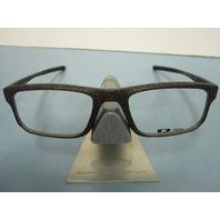 OAKLEY mens RX eyeglass frame VOLTAGE space khaki OX8049-0353 NEW w/Oakley case
