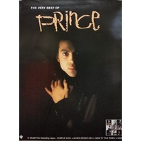 Prince 2001 very best of black promo poster MINT condition NEW old stock R.I.P.