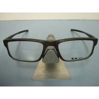 OAKLEY mens RX eyeglass frame VOLTAGE space khaki OX8049-0355 NEW in O case
