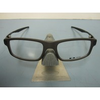 OAKLEY mens RX eyeglass frame TRAILMIX flint OX8035-0252 NEW w/case