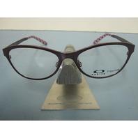 OAKLEY womens  PROMOTION orchid RX eyeglass frame OX5084-0552 NEW in Oakley case