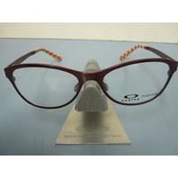 OAKLEY womens  PROMOTION 52 cayenne RX eyeglass frame OX5084-0452 NEW in case