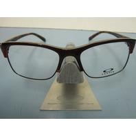 OAKLEY womens ALLEGATION brown tort RX eyeglass frame OX1090-0652 NEW w/O case