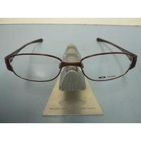 OAKLEY womens POETIC 2.0 *berry* RX eyeglass frame 12-394 ~NEW w/case~!!