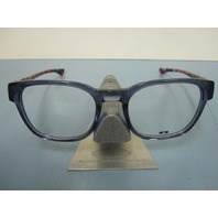 OAKLEY mens  CLOVERLEAF navy crazy RX eyeglass frame OX1078-0551 NEW w/case