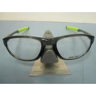 OAKLEY mens RX eyeglass frame CROSSLINK STRIKE *smoke* OX8048-0256 ~NEW w/case~!