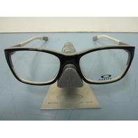 OAKLEY womens Blameless 50/50 RX eyeglass frame Black OX1103-0152 New In Box