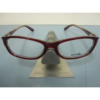 OAKLEY womens ENTRANCED crimson tide RX eyeglass frame OX1063-0452 NEW in O case