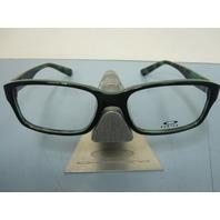 OAKLEY women ENTRY FEE green tortoise RX eyeglass frame OX1072-0652 NEW w/O case