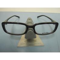 OAKLEY womens PREMONITION grey jasper OX1061-0250 RX eyeglass frame NEW in baggy