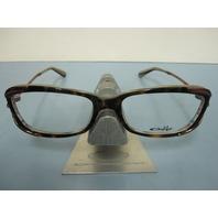 OAKLEY womens EXPOSURE tortoise stripe OX1068-0553 RX eyeglass frame NEW w/baggy