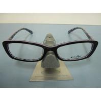 OAKLEY womens CROSS COURT nightfall  OX1071-0453 RX eyeglass frame NEW in O case