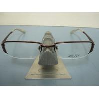 OAKLEY womens DEBATE brunette OX3118-0149 RX eyeglass frame NEW w/baggy