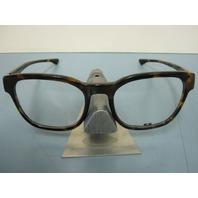 OAKLEY mens CLOVERLEAF tortoise RX eyeglass frame OX1078-0455 NEW in Oakley case