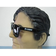 Osiris surf skateboard snowboard Highwear Sunglasses New Old Stock Black