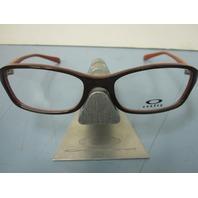 OAKLEY womens PERSUASIVE java spice OX1086-0352 RX eyeglass frame NEW w/O case