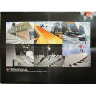 ES Sneakers 2001 Burnquist Koston skateboard poster New Old Stock Mint Condition