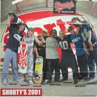 Shorty's 2001 Muska Team Vintage skateboard poster New Old Stock Nice Condition