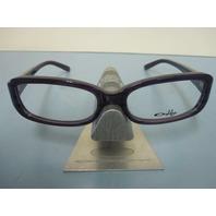OAKLEY womens CASSETTE purple horn OX1069-0452 RX eyeglass frame NEW in O case