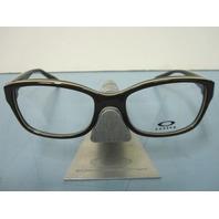 OAKLEY womens JUNKET cocoa OX1087-0552 RX eyeglass frame NEW w/Oakley case