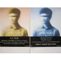 JAMES BLAKE 2011 self titled 2 sided promotional poster New Old Stock Flawless