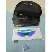 OAKLEY sunglass RADAR EV XS PATH white/sapphire iridium OJ9001-0131 New in Box