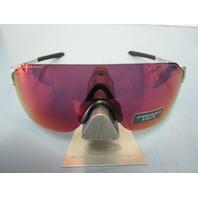 OAKLEY mens EVZero Stride Sunglass Silver/Prizm Field OO9386-0438 Baseball New