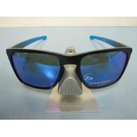 OAKLEY mens SLIVER XL Sapphire Fade/Prizm Sapphire Polarized OO9341-1357 New