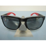 OAKLEY mens Holbrook Ruby Fade/Prizm Black Polarized OO9102-D355 NEW in box