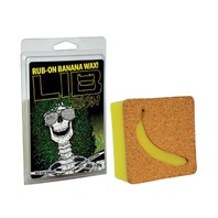 LIB TECH snowboard Rub-On Banana Wax New In Package