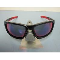 OAKLEY mens Valve Sunglass Polished Black/+Red Iridium OO9236-02 New In Box